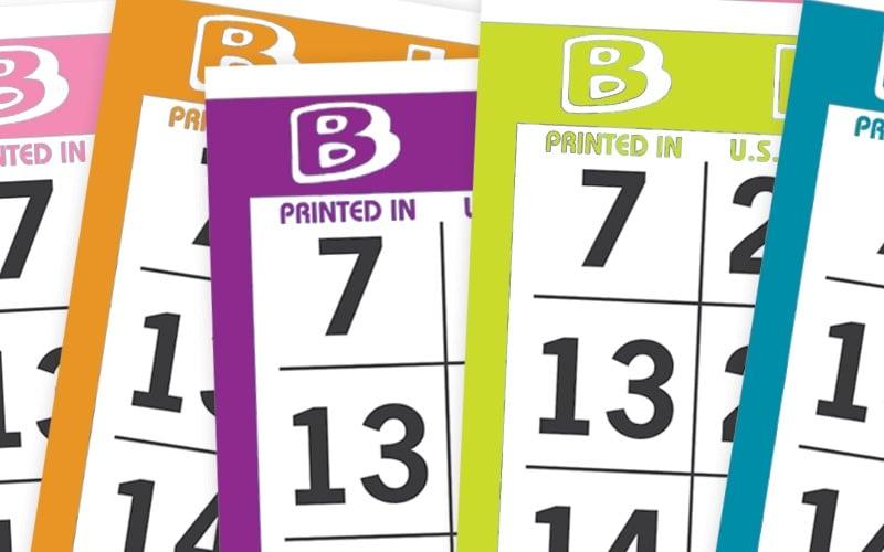 Capitol Bingo Paper