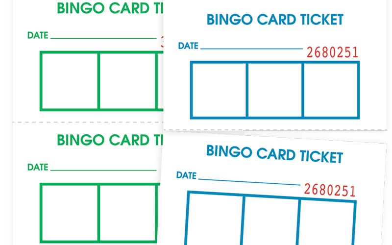 Bingo Card Tickets