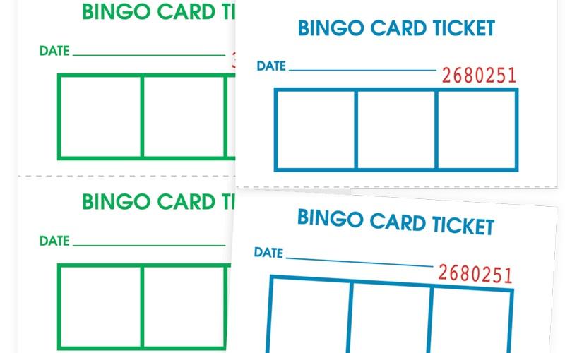 Bingo Card Tickets