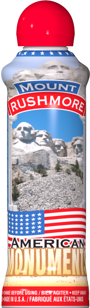 Mount Rushmore Patriotic Bingo Ink