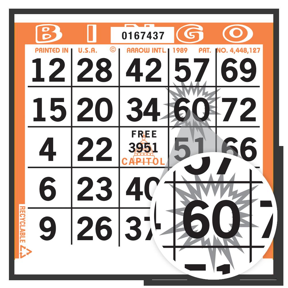 Starburst Bingo